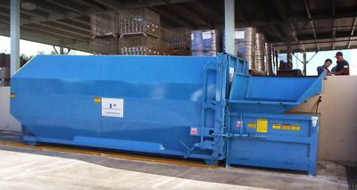 Compactor Infomration Stationary Waste Compactor Features Our 2 Cubic Yard Stationary Compactor Is Quality Built Cont Compactor Stationary Hydraulic Cylinder