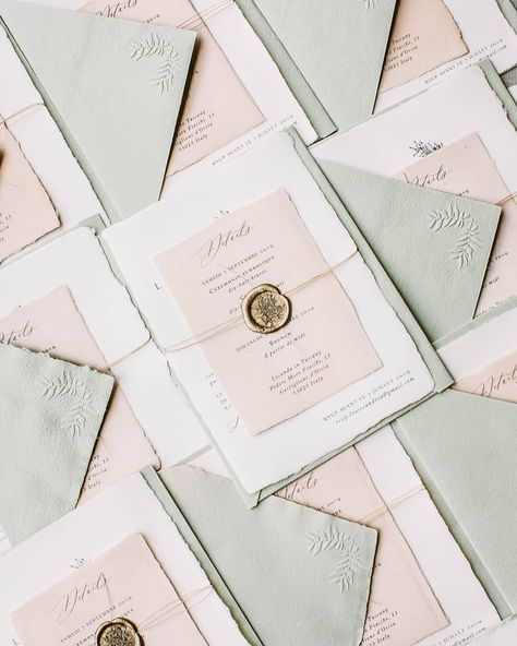 """Laura E Patrick on Instagram: """"Happy Friday to you all. Sharing these beautiful invites which headed out last week to Paris for an upcoming wedding in Tuscany. The lovely…"""""""