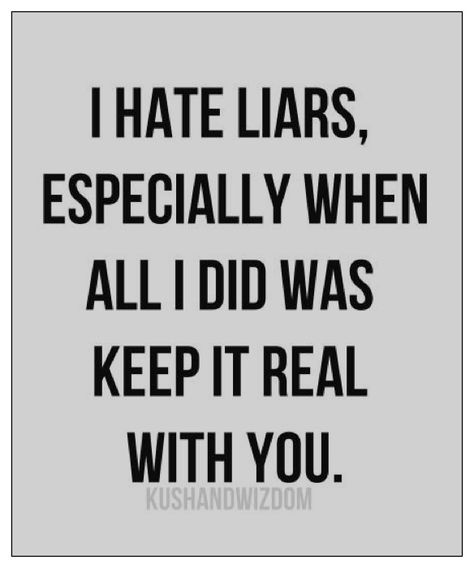 I'm shattered. Not because of the lies, but because I knew it all along. I thought you were different.. I was wrong. What an idiot was I..? My conscience is clean and this I promise you, LIKE ME, THERE'S NO OTHER. YOU WILL REGRET THIS!!
