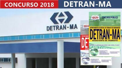 Concurso Departamento Estadual De Transito Ma 2018 Departamento