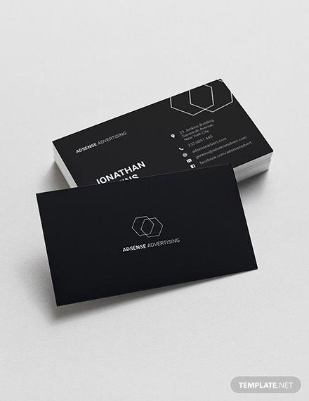 Minimalist Business Card Template Business Card Template Word Student Business Cards Business Card Design Minimalist