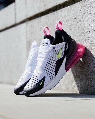 Nike Air Max 270 'Volt Fuchsia'. AUTHENTIC and. Get them