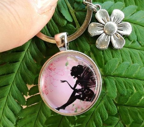 Kleeblatt Klee Bronze aus Metall Schlüsselanhänger Anhänger Taschenanhänger