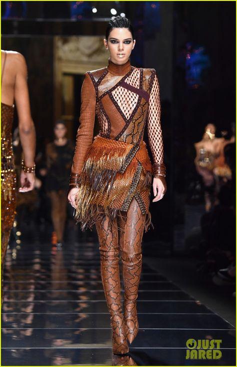 Zayn Malik Watches Gigi Hadid Walk For Balmain in Paris