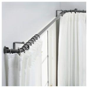 Kirsch Corner Window Curtain Rod S Izobrazheniyami Shtory Dlya