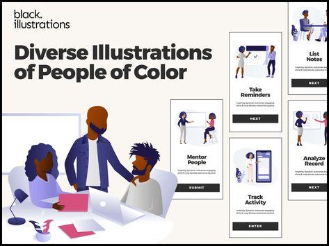Black Illustrations Sketch Freebie