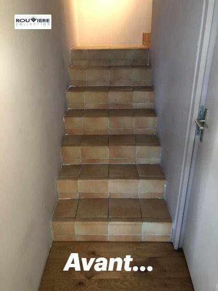 Cet Escalier Auparavant Carrele A Ete Renove Par Notre Applicateur Les Betons Modernes Roussel Sur Le Secteur En 2020 Escalier Carrele Escalier Escalier Beton Cire