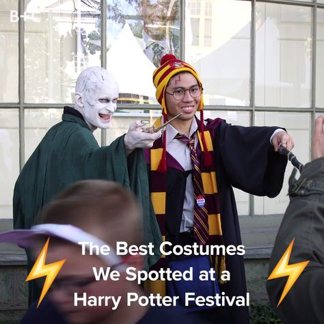 These Harry Potter aren't messing around!