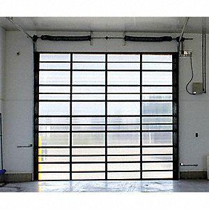Survivor Full View Translucent Dock Door Opening Height 10 Ft Opening Width 12 Ft Insulated No Garage Door Styles Garage Door Design Glass Garage Door
