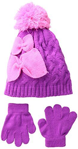 Hello Kitty Beanie and Mittens Set 2pc Set Sanrio Hello Kitty Winter Set