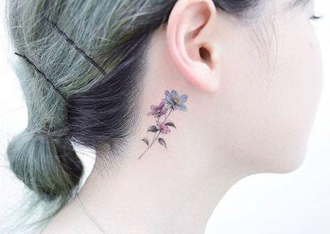 petit tatouage discret femme en 60+ modèles raffinés et pleins d