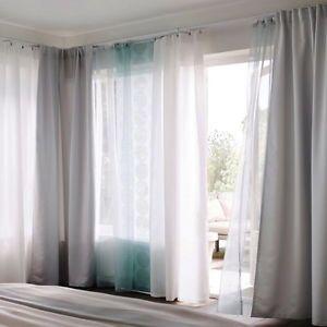 Ikea Teresia Sheer Curtains 1 Pair White Or Turquoise For Fairy