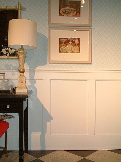 Love This Wall Paneling For The Bottom Half Of Melanie'S Room