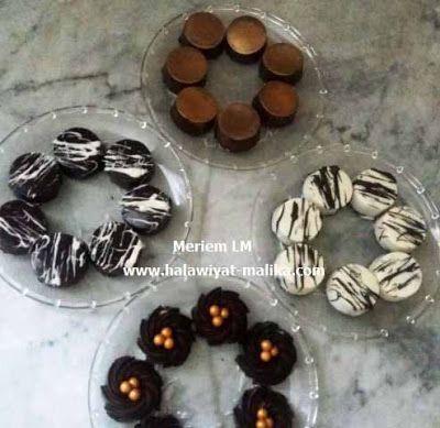 شوكولاتة محشية ببقايا الكيك والموز روعة Easy Sweets Desserts Food