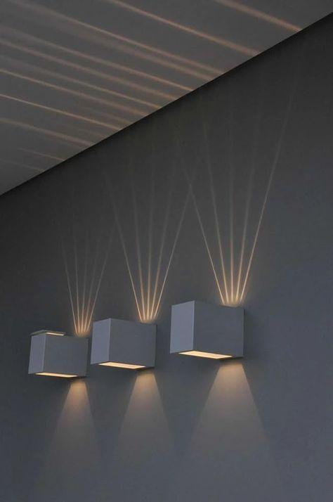 Home Lighting Design, Lighting Concepts, Ceiling Design, Interior Lighting, Luxury Interior, Home Interior Design, Sconce Lighting, Bedroom Lighting, Cool Lighting