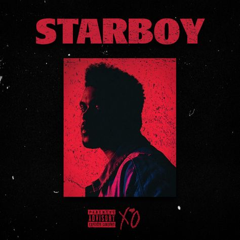 The Weeknd - Starboy Cool Album Covers, Album Cover Design, Music Album Covers, Edi Rock, The Weeknd Albums, Starboy The Weeknd, Artist Album, Music Wallpaper, Photo Wall Collage