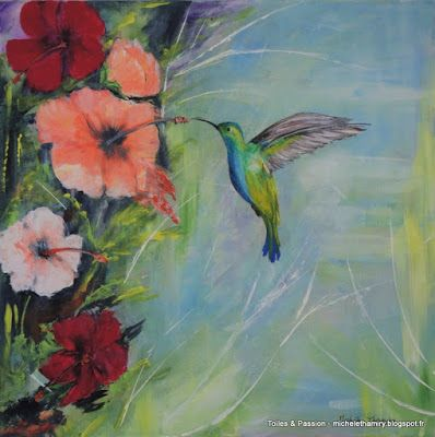 Epingle Par Michele Thamiry Sur Toiles Et Passion Toile Peinture