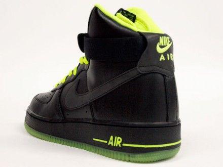 NIKE ID x PENDLETON Air Force 1 AF1 High Top Black Teal Mens Shoes Sz 10.5 US