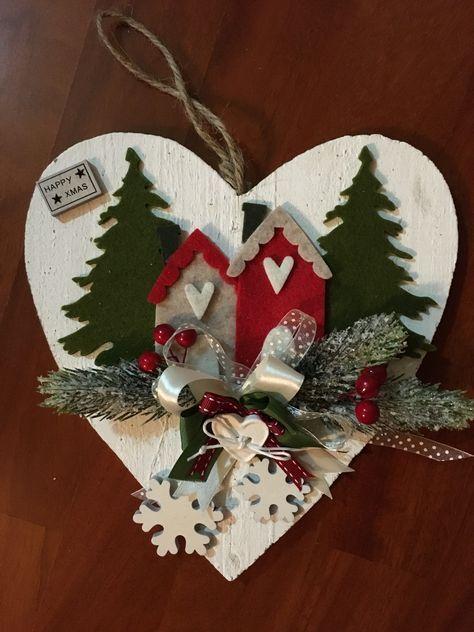 Pannolenci Lavoretti Di Natale.Decorazioni Natalizie Fai Da Te In Feltro E Pannolenci Natale Ghirlande Di Natale Feltro Di Natale