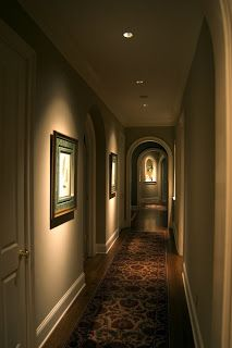 Example Ceiling Recessed Spotlight On Art Traditional