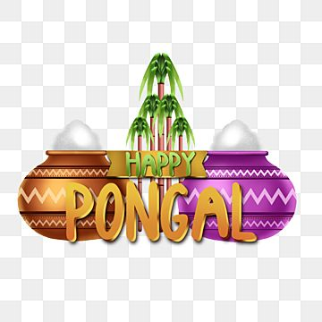 Happy Pongal Asset Decoration With Attractive Illustrations Festival Harvest Indian Png Transparent Clipart Image And Psd File For Free Download In 2021 Happy Pongal Happy Prints For Sale