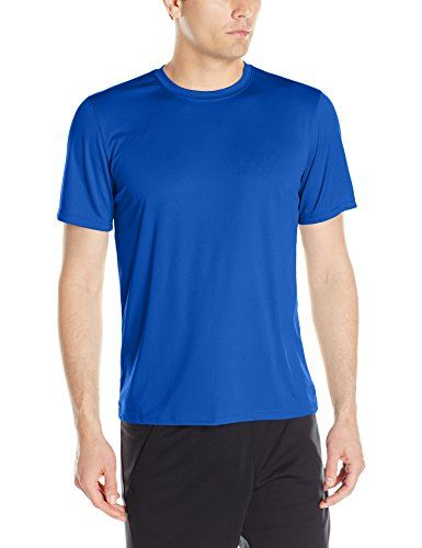 Champion Mens Short-Sleeve Double Dry Performance T-Shirt