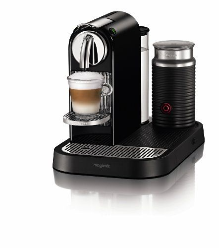 Nespresso Citiz D120 Automatic And Programmable Espresso And Lungo Machine W Frother Black Http Nespressoshop Net Best Espresso Machine Nespresso