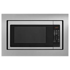 Whirlpool 2 2 Cu Ft 1700 Watt Countertop Microwave Fingerprint
