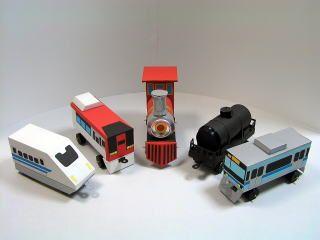 牛乳パック工作 電車 好きな電車を作ろう 牛乳パック 工作