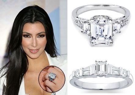 Kim Kardashian was proposed by her boyfriend Kris with a giant