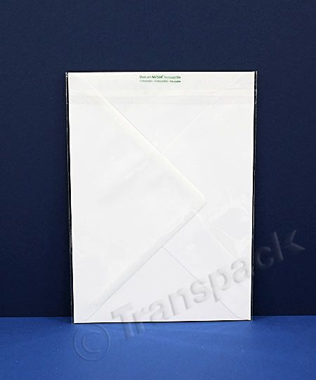 Compostable Greeting Card Bag C5 167x230mm | Eco Friendly