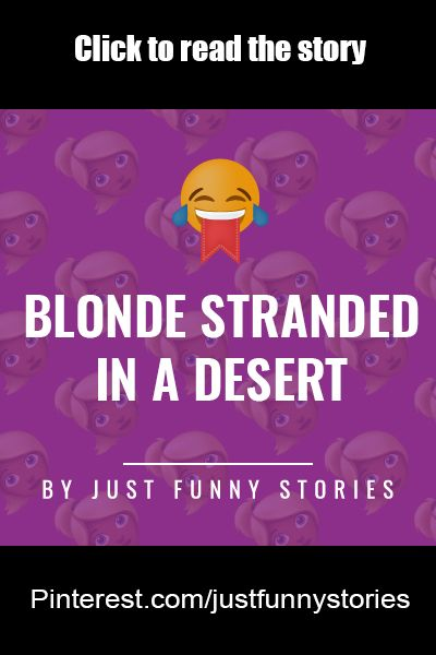 Just another funny blonde story