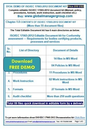 Pin by David Smith on ISO Certification Documentation Toolkit - process manual template