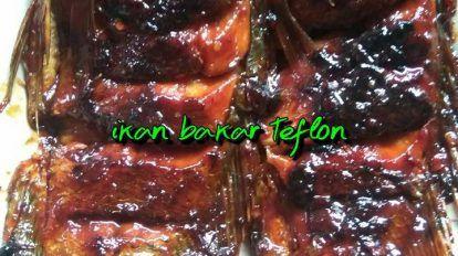 Ikan Bakar Teflon By Septi Ani Langsungenak Com Resep Ikan Bakar Makanan Dan Minuman Resep Makanan