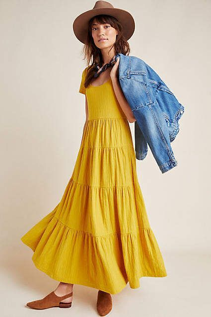 28++ Casual tiered maxi dress inspirations