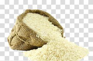 الأرز الأبيض في كيس البني التوضيح جيرا الأرز البسمتي المطبخ الهندي الغذاء الأرز Png Crochet Hats Clip Art
