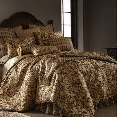 Astoria Grand Cheryle Luxury Comforter Set Size Queen Comforter