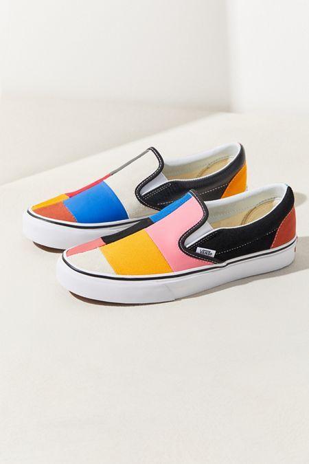 Vans Patchwork Slip-On Sneaker