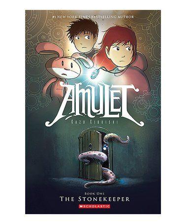 Look At This Zulilyfind Amulet 1 The Stonekeeper Paperback Zulilyfinds Graphic Novel Amulet Books