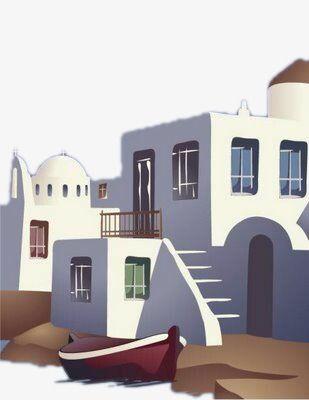 بيوت بيضاء حر Png و Psd House Styles White Houses House