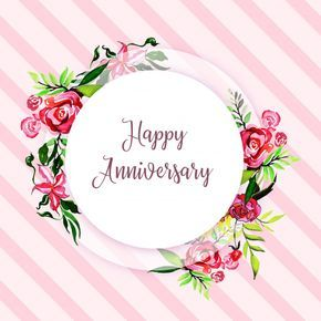 Download Watercolor Floral Happy Anniversary Frame Background For Free Happy Anniversary Wishes Happy Wedding Anniversary Wishes Anniversary Frame
