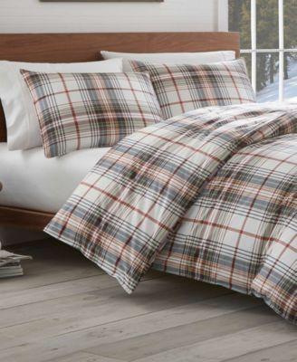 Eddie Bauer Classic Plaid Red Full Queen Comforter Set Reviews