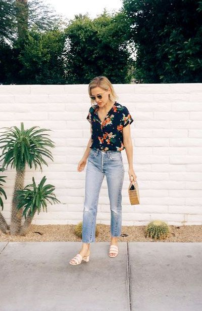 6b971b3bd00 How to Wear Mules Shoes This Summer - 30 Outfit Ideas | Spring ...