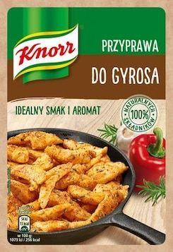 Kanapka Gyros Knorr Recipes Food
