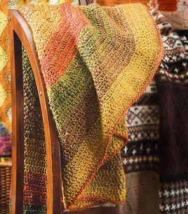 Stratford Circle Afghan: Afghans, Throws & Pillows: Shop | Joann.com