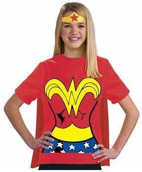 Wonder Woman Halloween Costume Kids.Wonder Woman Shirt Kids Costume Wonder Woman Costume Ideas For