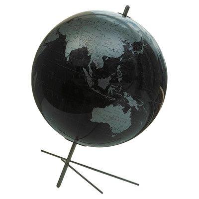 2ba7ebfda6dada Replogle Globes Mikado Slate Grey World Globe