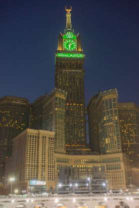 Most Famous Clocks In The World May 6 2018 Makkah Royal Clock Tower Mecca Saudi Arabia The Four Clocks Mounted Near The Giant Clock Clock Tower Clock
