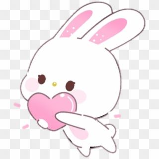 Kawaii Bunny Download Free Clipart With A Transparent Kawaii Bunny Cute Kawaii Png Download Kawaii Kawaii Bunny Free Clip Art