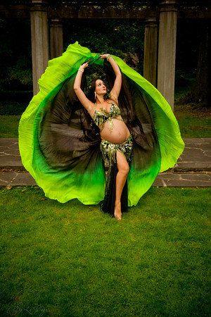Dancers World Silver Trimmed SEMI Circle Veils Belly Dance Costume Veil Wrap Scarf Black
